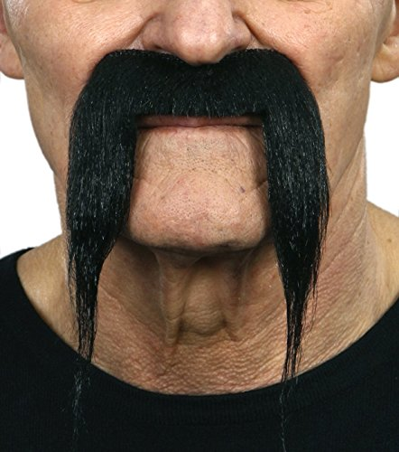 [Fu Manchu black mustache] (Fu Manchu Costumes)