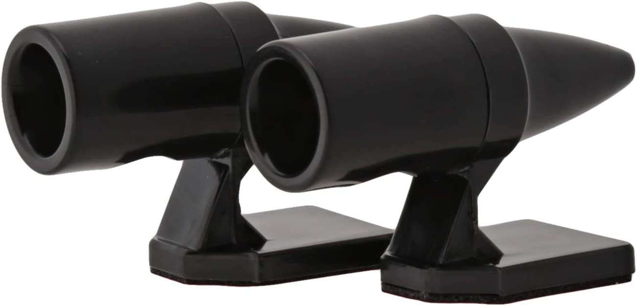 Auto Safety Alert Devic#ay Ultrasonic Car Deer Warning Whistles 1//2 packs