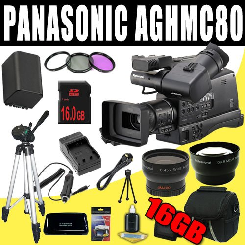 panasonic-ag-hmc80-3mos-avccam-hd-shoulder-mount-camcorder-vbg260-battery-charger-filter-kit-16gb-sd