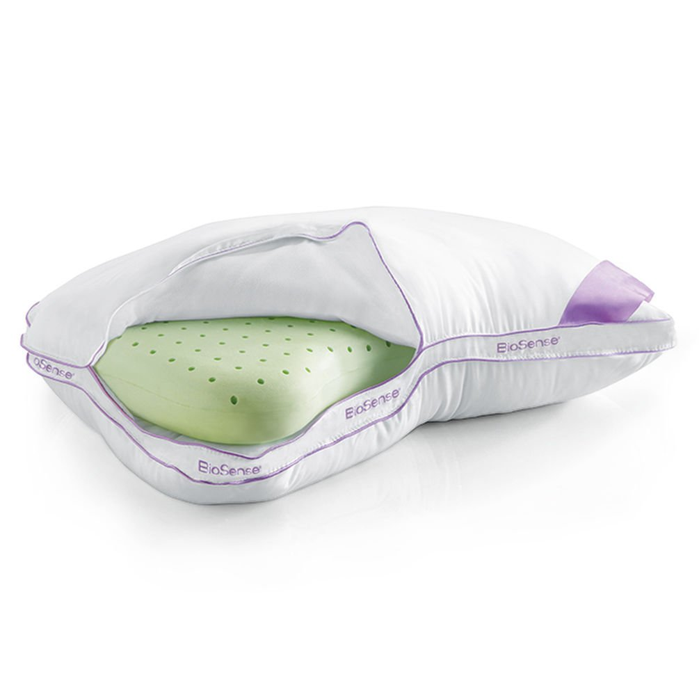 Brookstone BioSense 2-in-1 Shoulder Pillow for Side Sleepers