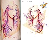 Body Art Temporary Removable Tattoo Stickers Horoscope - Scorpio Sticker Tattoo - FashionDancing