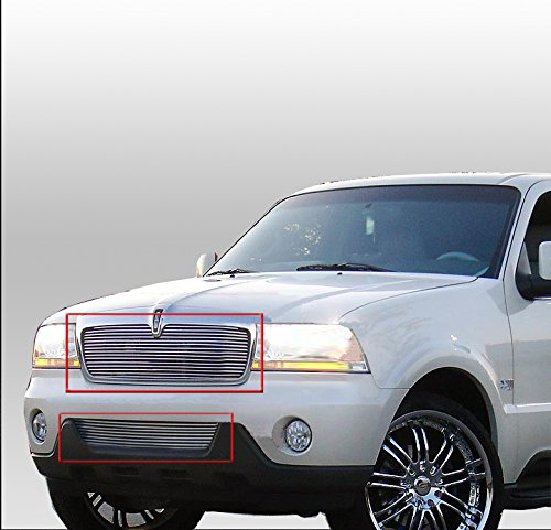 ZMAUTOPARTS Lincoln Aviator Front Upper+ - Lincoln Aviator Billet Shopping Results