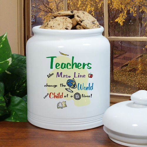 Change The World Ceramic Cookie Jar, 10