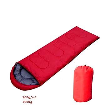 Saco de Dormir de sobre Tipo 3-4 Estaciones Cuello con cordón Adecuado para el Senderismo y el Senderismo,Red: Amazon.es: Deportes y aire libre