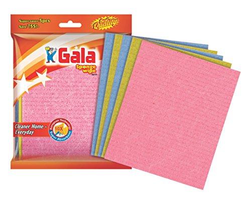 GalaSponge Wipe for Kitchen 5 Pcs Pack (Multipurpose) (148995)