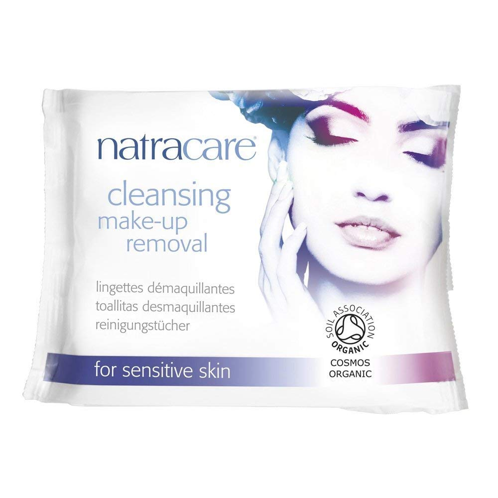 (8 PACK) - Natracare Cleansing Make-Up Removal Wipes | 20s | 8 PACK - SUPER SAVER - SAVE MONEY