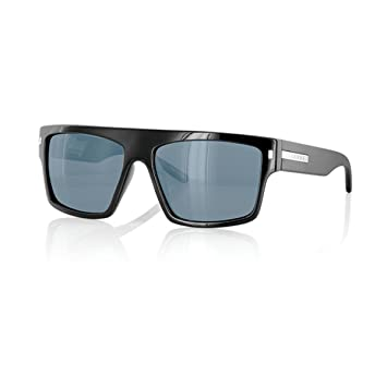 287e6a09e9 Amazon.com  CARVE Wavey Sunglasses Black Polarized  Clothing
