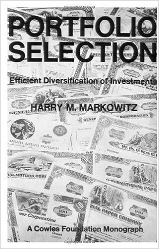 Portfolio Selection: Efficient Diversification of Investments (Cowles Foundation Monograph: No. 16)