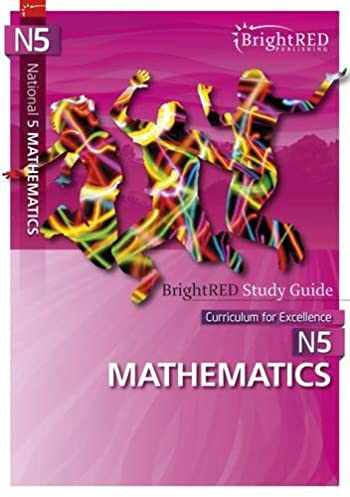 national 5 mathematics study guide brightred study guides brian j rh amazon com Paraprofessional Test Study Guide Study Guide Math Problems