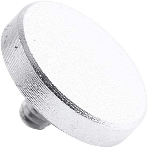 Madezz Quick Release Button Universal Aluminium Alloy Release Button Three Colors for X100 XE1 Camera silver