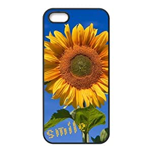 Painted Sunflower PC Hard back phone Case cover Iphone 5s 5