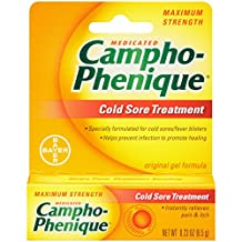 Campho-phenique Cold Sore Treatment , 0.23 Ounce-Packing May vary
