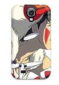 Galaxy High Quality Tpu Case/ Princess Mononoke Case Cover For Galaxy S4 9972148K58320142