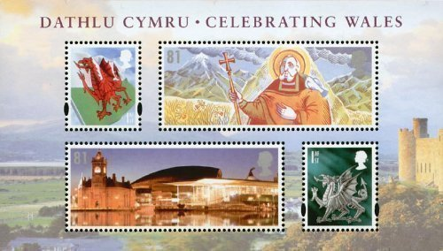 2009 Celebrating Wales Miniature Sheet No. 62 - Royal Mail Stamps by Royal Mail