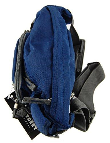 NB24 Bauchtasche, Gürteltasche, blau, (2434) Geldtasche für Damen, Herren und Kinder, Nylon, Bag Street, Tasche, Freizeittasche, Schultasche