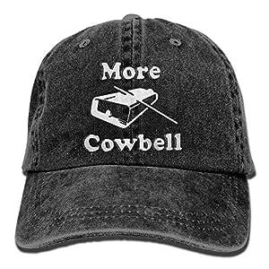 Cowboy Hat Cap for Men Women More Cowbell