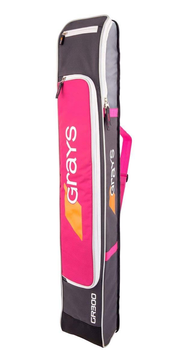 GR300 SMU Hockey Stickbag - Pink/Teal Grays