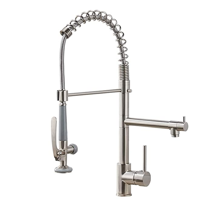 Best Commercial Kitchen Faucets: Fapully Commercial Kitchen Sink Faucet