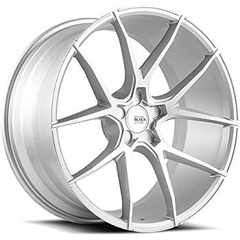 Amazon Com 20 Inch Savini Bm14 Brushed Silver Wheels Rims Only