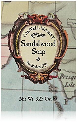 Caswell-Massey Sandalwood Soap 3.25 Oz. Bar
