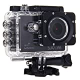 SJCAM SJ5000 Novatek 96655 14MP 170¡ã Wide Angle 2.0'' LCD 1080P Sport Action Camera Waterproof Cam HD Camcorder Outdoor for Vehicle Diving Swimming (Black) Action Cameras SJCAM