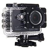 SJCAM SJ5000 Novatek 96655 14MP 170¡ã Wide Angle 2.0'' LCD 1080P Sport Action Camera Waterproof Cam HD Camcorder Outdoor for Vehicle Diving Swimming (Black)