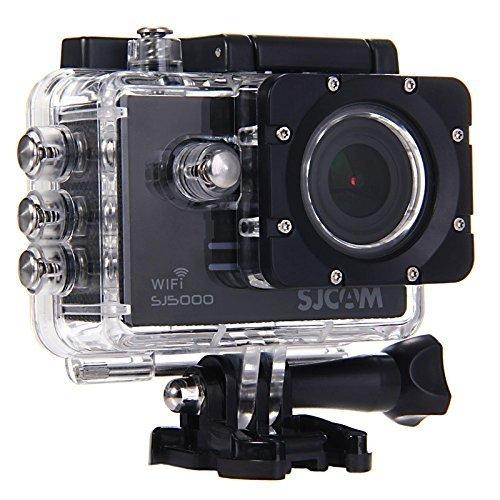 SJCAM SJ5000WiFi 高機能防水 アクションカメラ スポーツカメラ ドライブレコーダー完全防水 1080P録画 ブラック