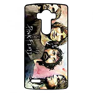 LG G4 Phone Case Cover For Pink Floyd Side Out The Moon Music Art Rainbow Black Back