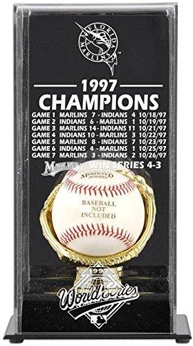 Florida Marlins Display Case (1997 Florida Marlins World Series Champs Display Case)