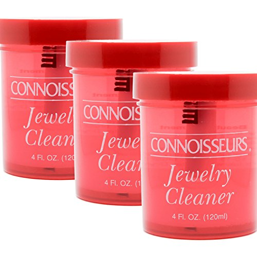 Fine Precious Jewelry and Gem Cleaner by Connoisseurs 4 fl.oz. (Pack of 3) by Connoisseurs (Image #3)