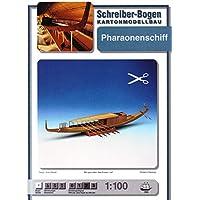 Aue Verlag Schreiber-Bogen Cardboard Model Royal Boat of Pharaoh Cheops