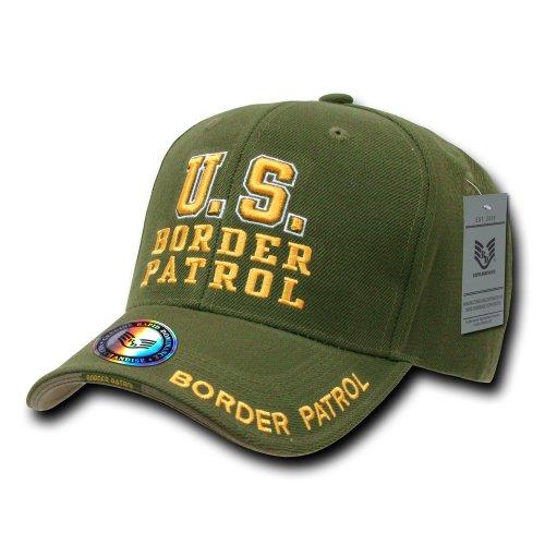 Rapiddominance Border Pattern Deluxe Law Enforcement Cap, Olive