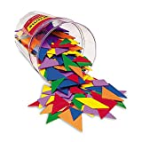 Learning Resources LER0416-6 Classpack Tangrams (Set of 30) 6 Colors