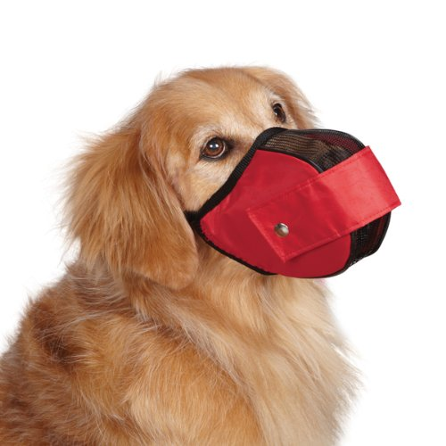 Guardian Gear Cordura Nylon Fabric Mesh Dog Muzzle, Small, 7-Inch, ()