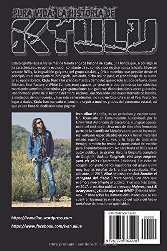 Pura vida: la historia de Ktulu (Spanish Edition): Ivan Allué Montilla: 9781729764220: Amazon.com: Books