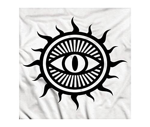 Amazon Occult Bandana By Ambesonne Third Eye Symbol In Sun
