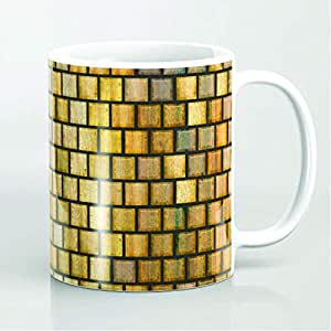 Yellow Color High Quality Porcelain Mug - 10 oz