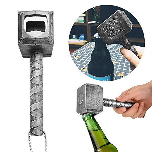 Bottle Opener, Beer Opener, Hammer of Thor Shaped Beer Bottle Opener (Its Hard To Build But Easy To Destroy)