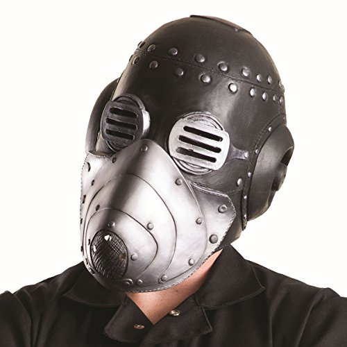 Rubie's Men's Slipknot Sid Mask with Removable Face Plate, Multi, One Size