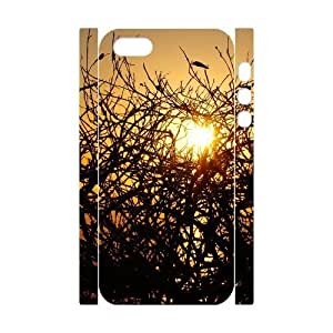 3D IPhone 5,5S Cases Burning Bush, Iphone 5s Cases for Men - [White] Kweet by tigerbrace