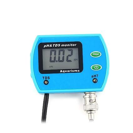 2 EN 1 de Pureza Portátil PH TDS Meter Digital Water Tester Analyzer Tool Detector para