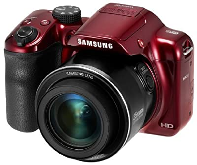 "Samsung WB1100F 16.2MP CMOS Smart WiFi & NFC Digital Camera with 35x Optical Zoom, 3.0"" LCD and 1080p HD Video"