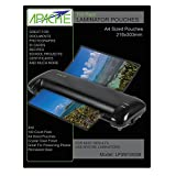 Apache Laminating Pouches, Letter Size, 100 Pack, 3 mil