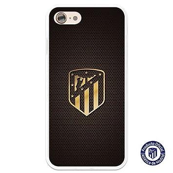 Atlético de Madrid Carcasa Oficial Escudo Oro iPhone 8