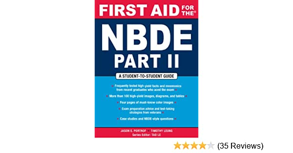 Amazon com: First Aid for the NBDE Part II (First Aid Series