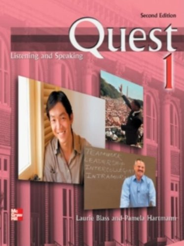 Quest 1 Listening and Speaking Student Book with Audio Highlights, 2nd edition