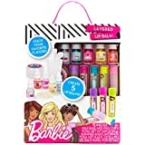 Barbie by Horizon Group USA Make Your Own Layered Lip Balm Kit 5 Custom Mix and Match Flavors and Colors