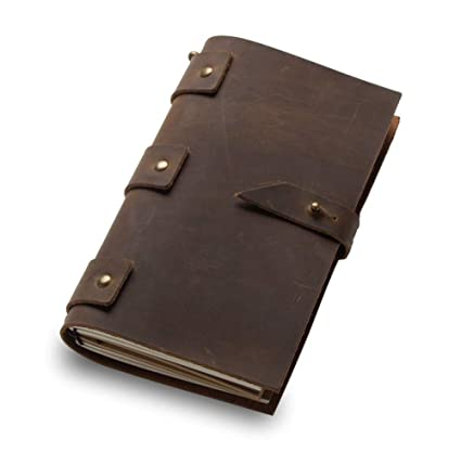 Amazon.com: TreeMart Leather Vintage Diary Notebook Journal ...