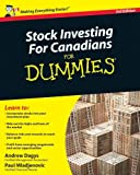 img - for By Andrew Dagys - Stock Investing For Canadians For Dummies (3rd Edition) (2009-02-24) [Paperback] book / textbook / text book