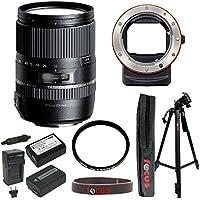 Tamron 16-300mm f/3.5-6.3 Di-II VC PZD Macro Lens w/ Sony A-Mount to E-mount Lens Adaptor & Accessory Bundle